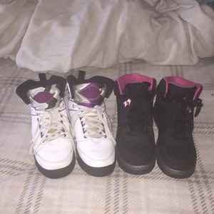 Two pairs of Jordan's for the price of 1!!